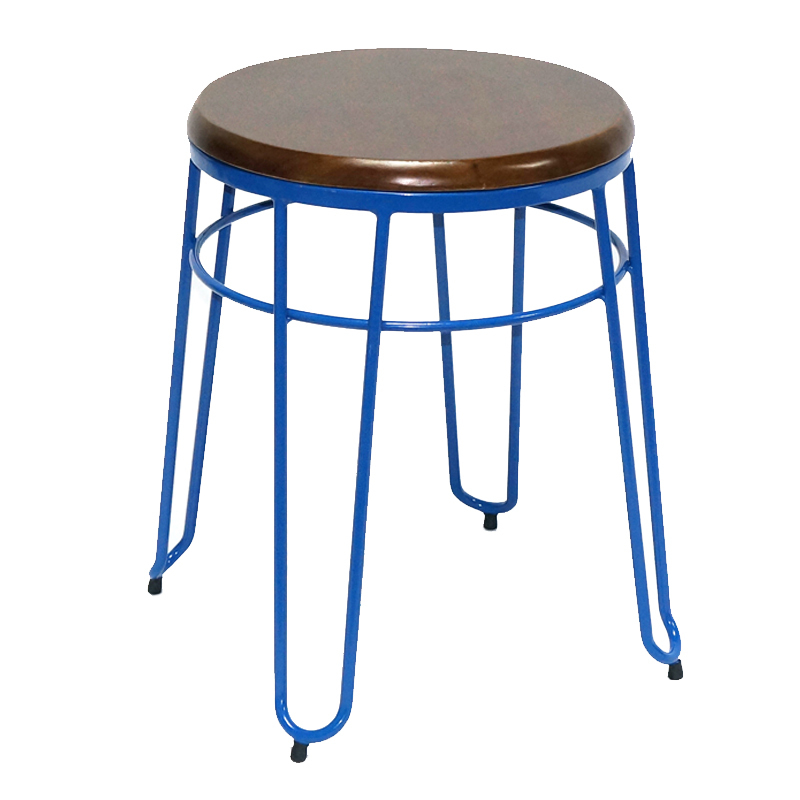 Factory Directly Low Metal Stool GA302C-45STW