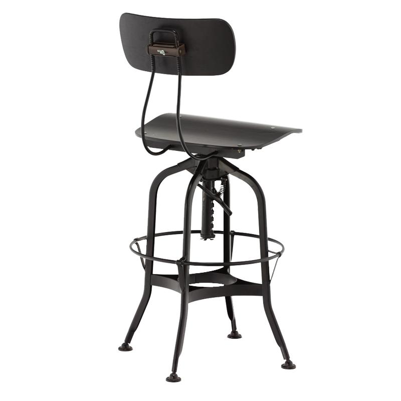 Wholesale high chair antique vintage industrial metal bar chair bar stool GA402C-65STW