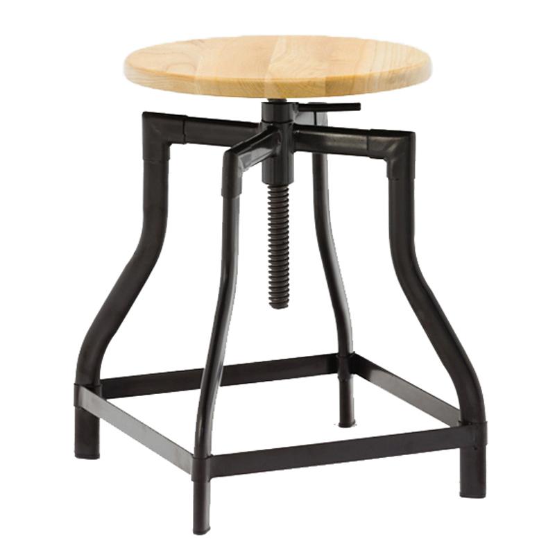 China Vintage Industrial Metal Stool Chair GA601C-45STW