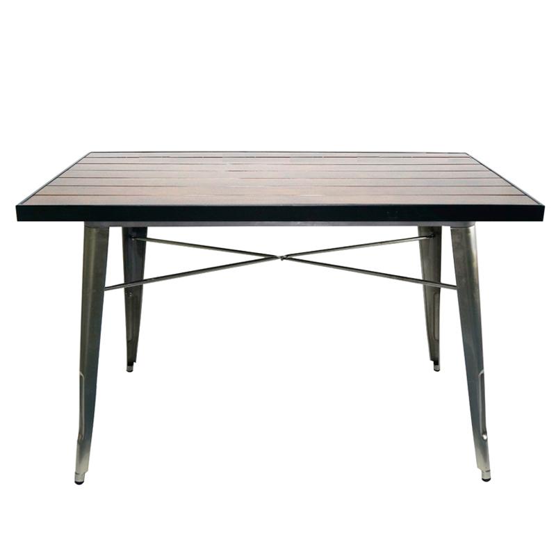 1.8m Industrial Marias Deaign Natural Wood Table GA101T
