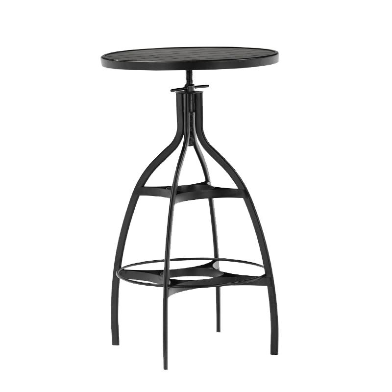 Industrial Metal Frame Adjustable Bar Furniture Table GA606BT