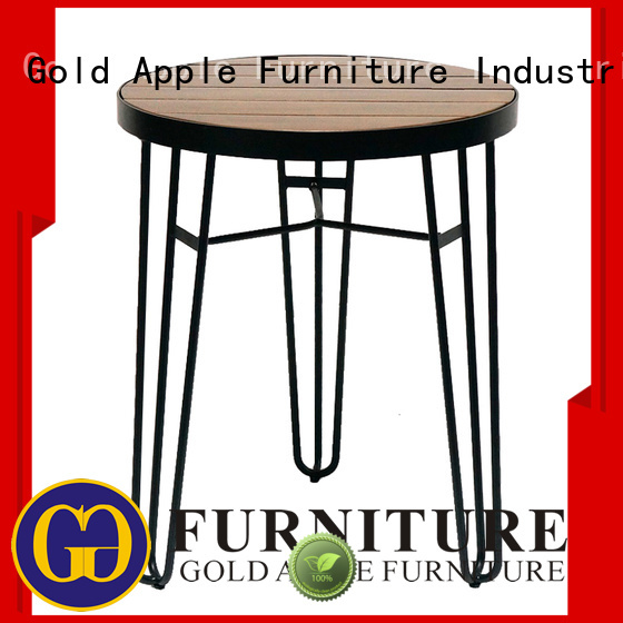Gold Apple Brand home wholesale dining tables rectangle supplier
