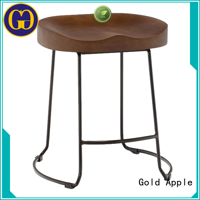 Quality Gold Apple Brand vintage chair low stool
