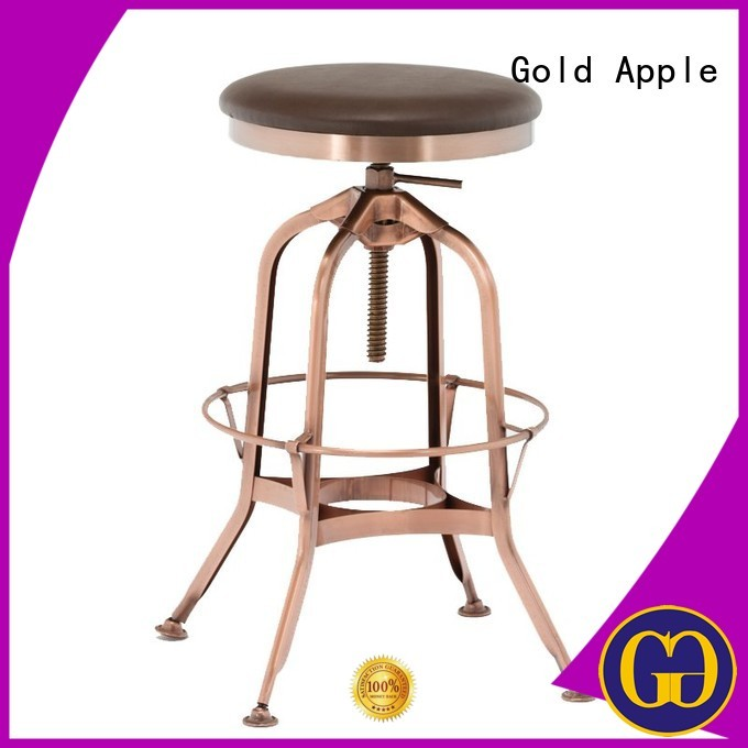 upholstered bar stools with backs and arms steel cafe Gold Apple Brand upholstered bar stools