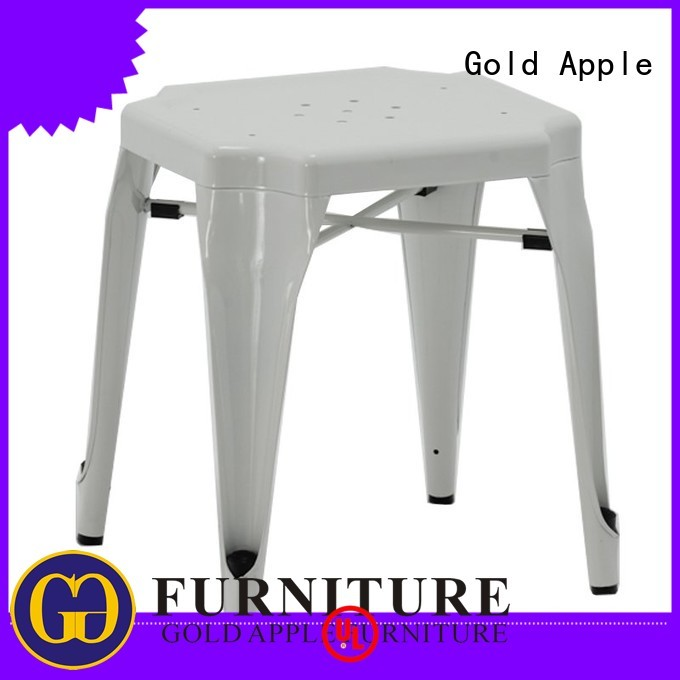 Gold Apple Brand low kitchen outdoor wooden bar stools