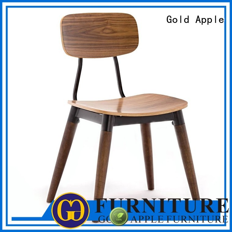 Gold Apple Brand solid dinning custom wooden chair suppliers