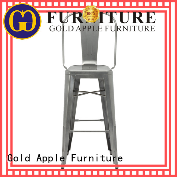 Gold Apple Brand chair home outdoor wooden bar stools
