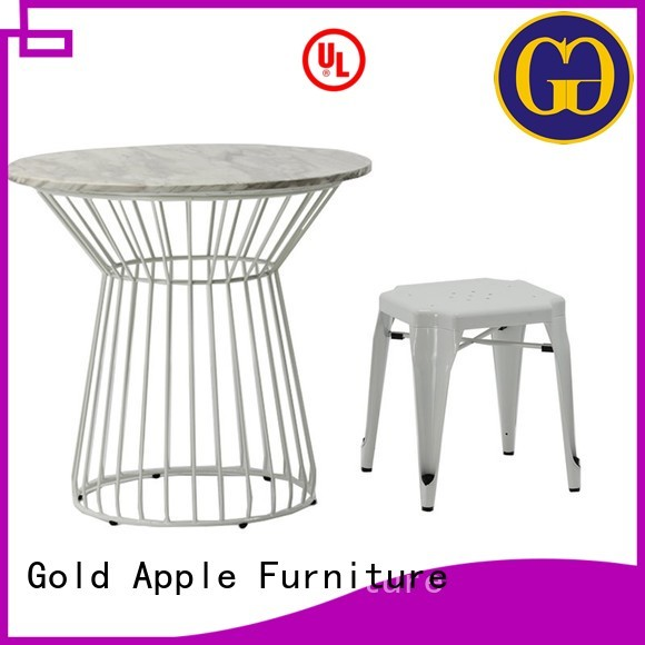 Wholesale durable outdoor dining table and chairs outdoor Gold Apple Brand