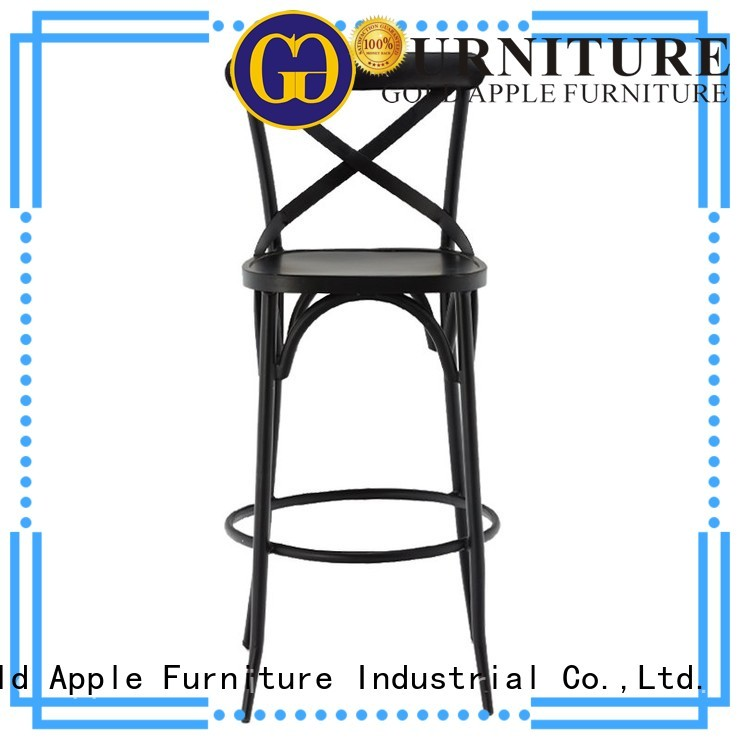 wire pub rusty bar stool supplier adjustable Gold Apple Brand