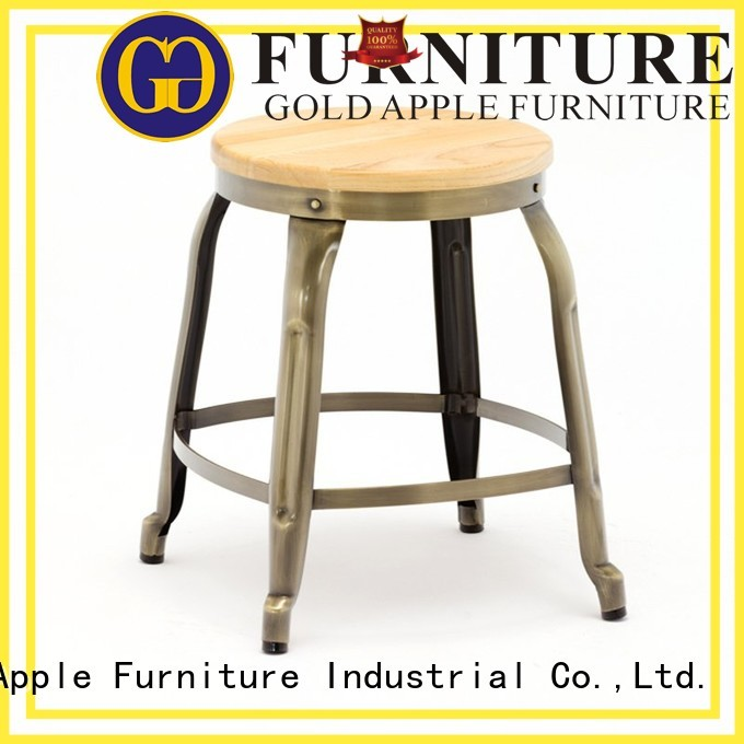 low stools for sale iron Gold Apple Brand low stool