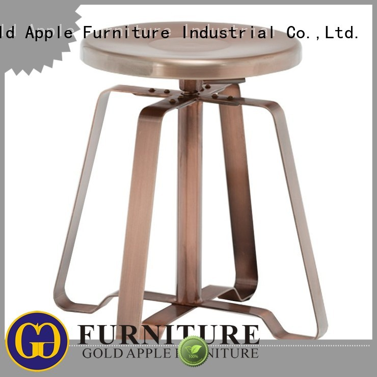 Wholesale dining low stool Gold Apple Brand