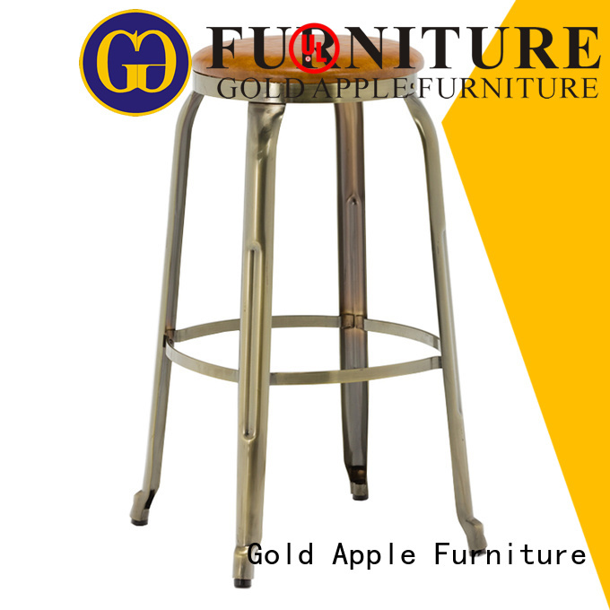 Wholesale height upholstered counter stools Gold Apple Brand