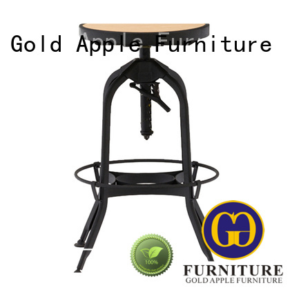 Hot wooden stool chair industrial Gold Apple Brand