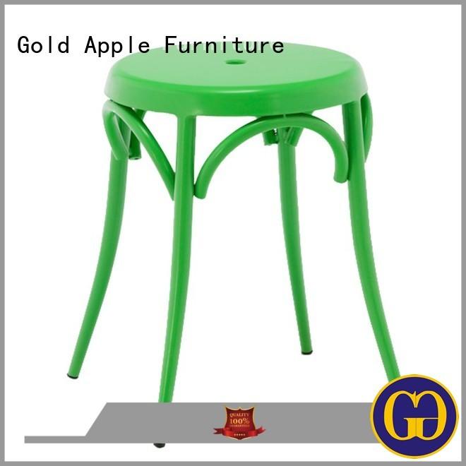 industrial wood stool outdoor stools outdoor Gold Apple Brand