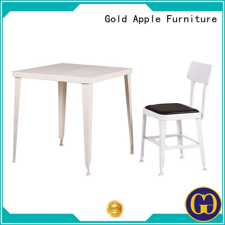shop living dining dining table set for 4 hotel Gold Apple Brand