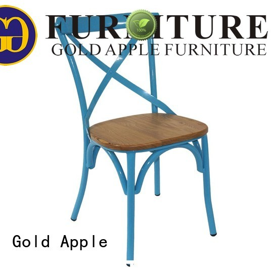 metal dining chairs with arms wood banquet chairs Warranty Gold Apple