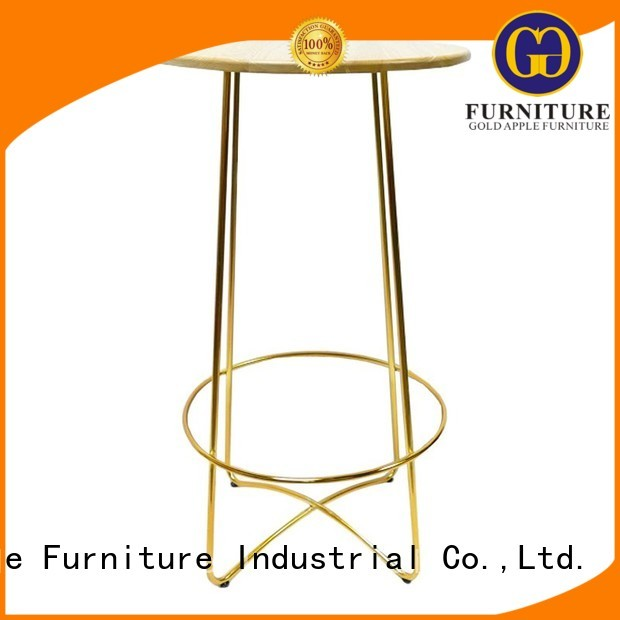indoor bar table dining coffee Bulk Buy frame Gold Apple