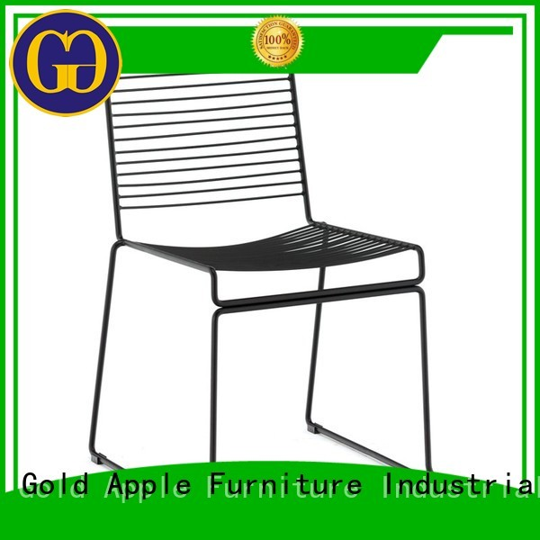 aluminum stacking chairs black upholstery Gold Apple Brand stackable office chairs