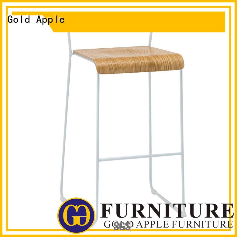 grey upholstered barstool bar stool supplier Gold Apple