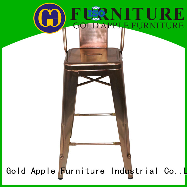 outdoor tolix outdoor stools low chair Gold Apple company