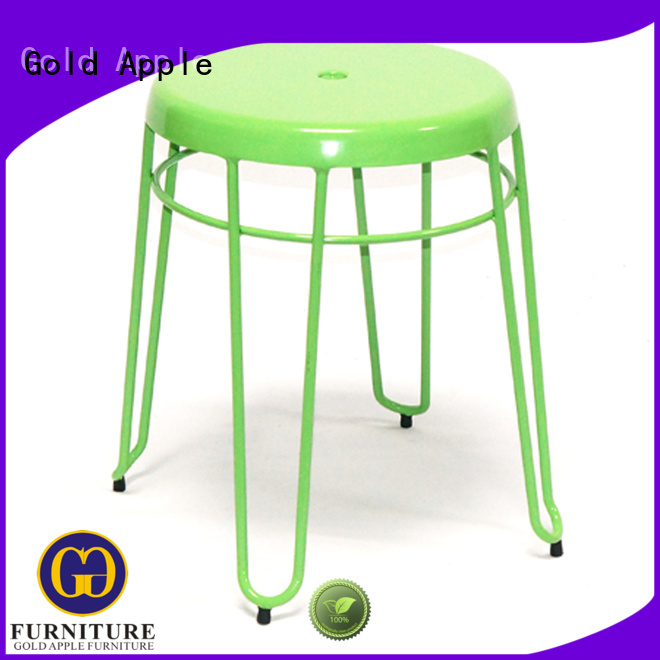 Gold Apple Brand backs outdoor stools tolix factory