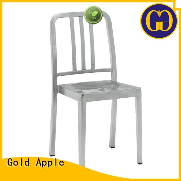 seat Custom restaurant color wooden patio chairs Gold Apple vintage