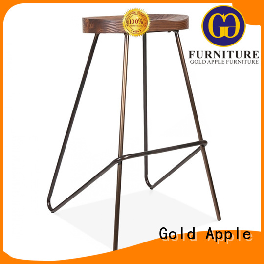 Gold Apple Brand room bar stool supplier plywood factory