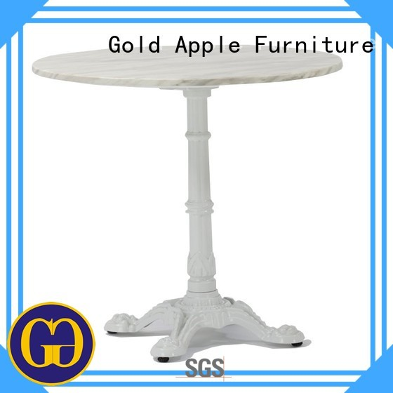 Custom outdoor portable wood patio table Gold Apple furniture
