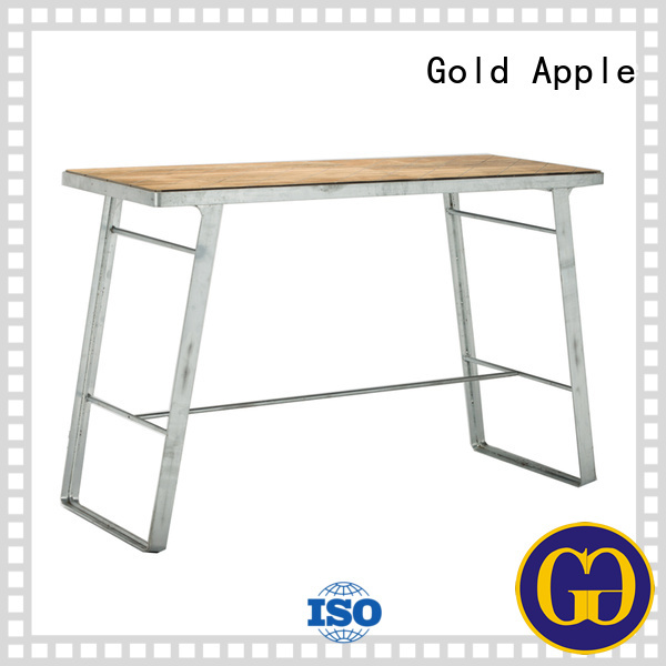 coffee frame indoor bar table artificial table Gold Apple Brand