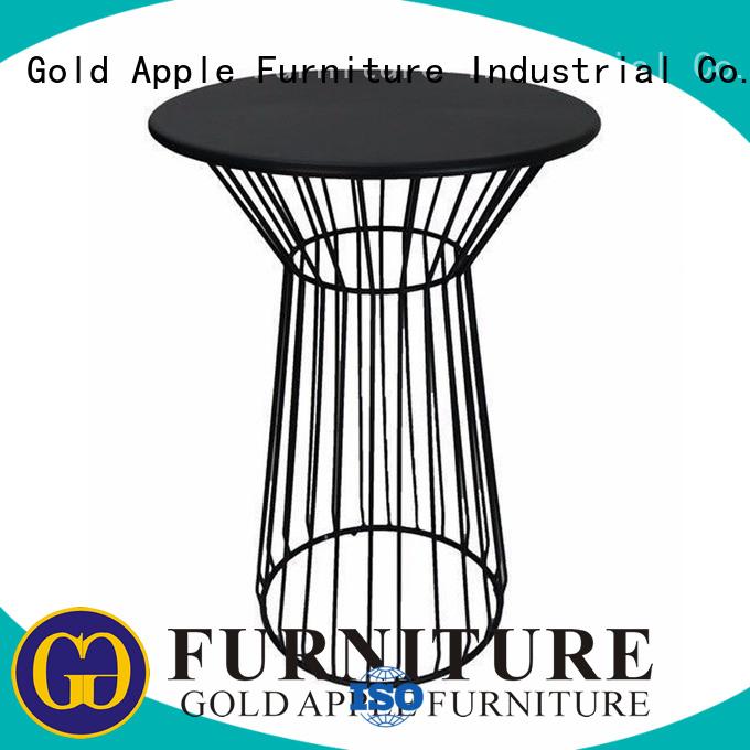Custom height modern bar table dining Gold Apple