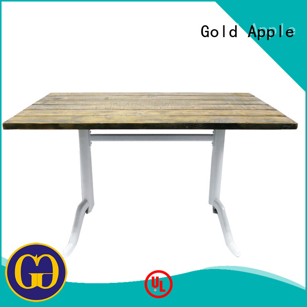 Hot garden furniture table coffee Gold Apple Brand