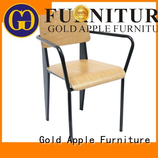 Gold Apple Brand sale seat wooden chair manufacturers chairs factory