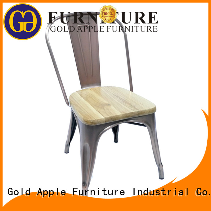 metal hotel plywood Gold Apple Brand stackable office chairs
