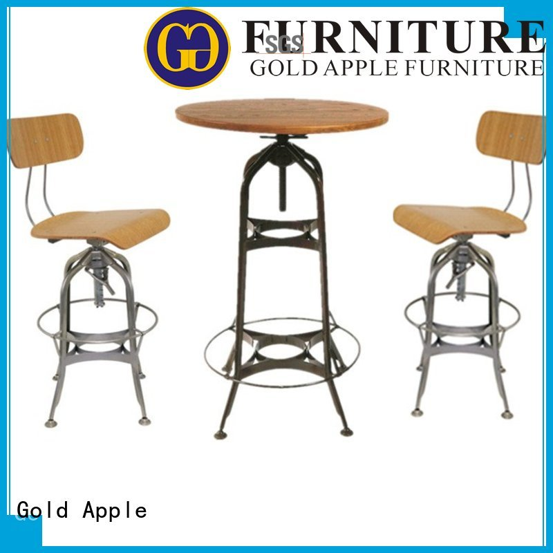 bar top table sets modern affordable Bulk Buy bar Gold Apple
