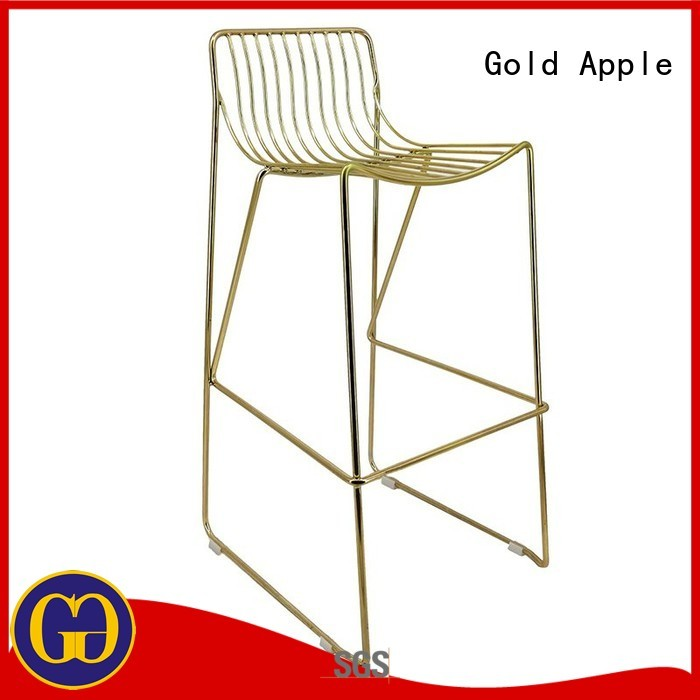 cafe sale outdoor stools modern Gold Apple company