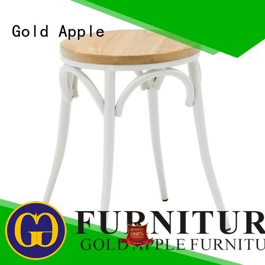 stools wood backs wooden swivel bar stools modern Gold Apple Brand