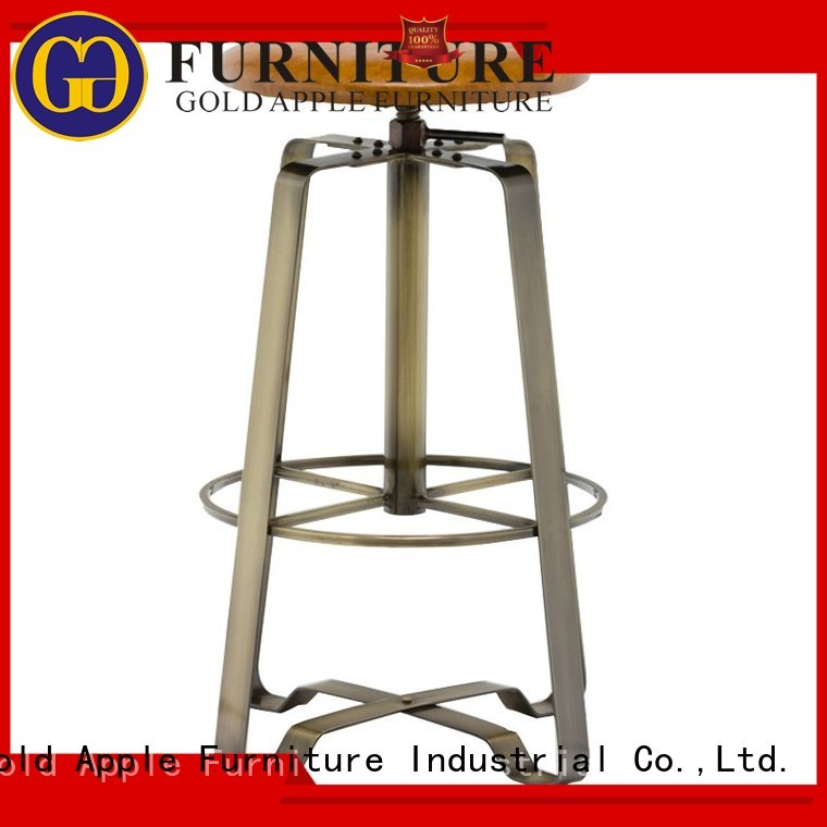 Hot tall counter stools barstool Gold Apple Brand