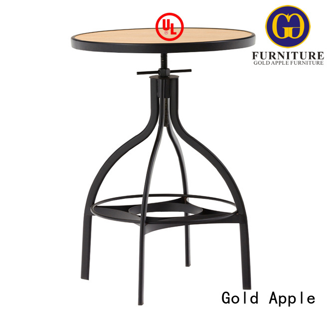 indoor bar table dining quality table Gold Apple Brand