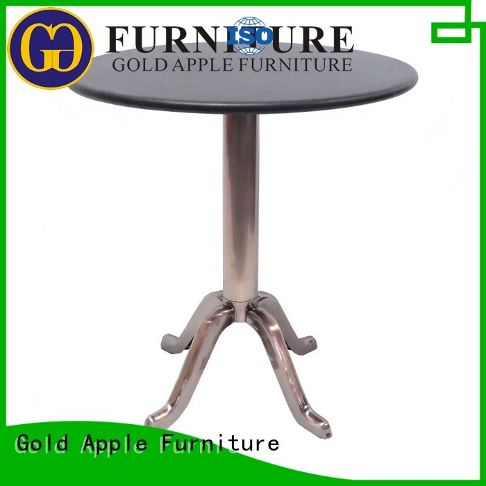 Gold Apple Brand glass design modern wood and glass coffee table