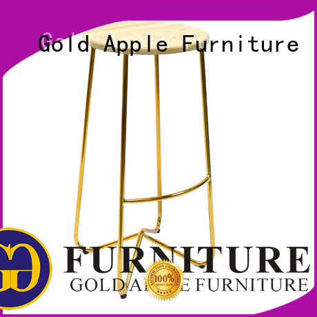 Quality Gold Apple Brand bar stool manufacturer living