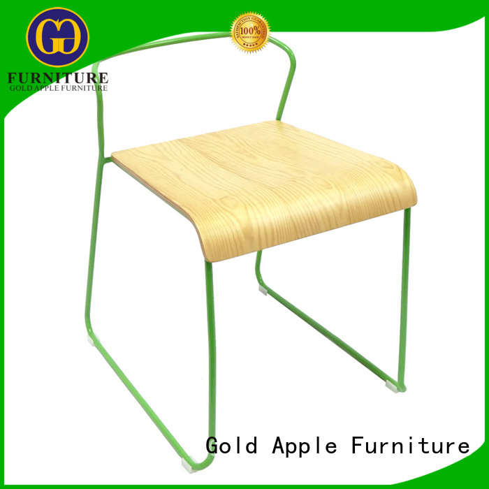 Hot bent wooden chair manufacturers antique restaurant Gold Apple Brand