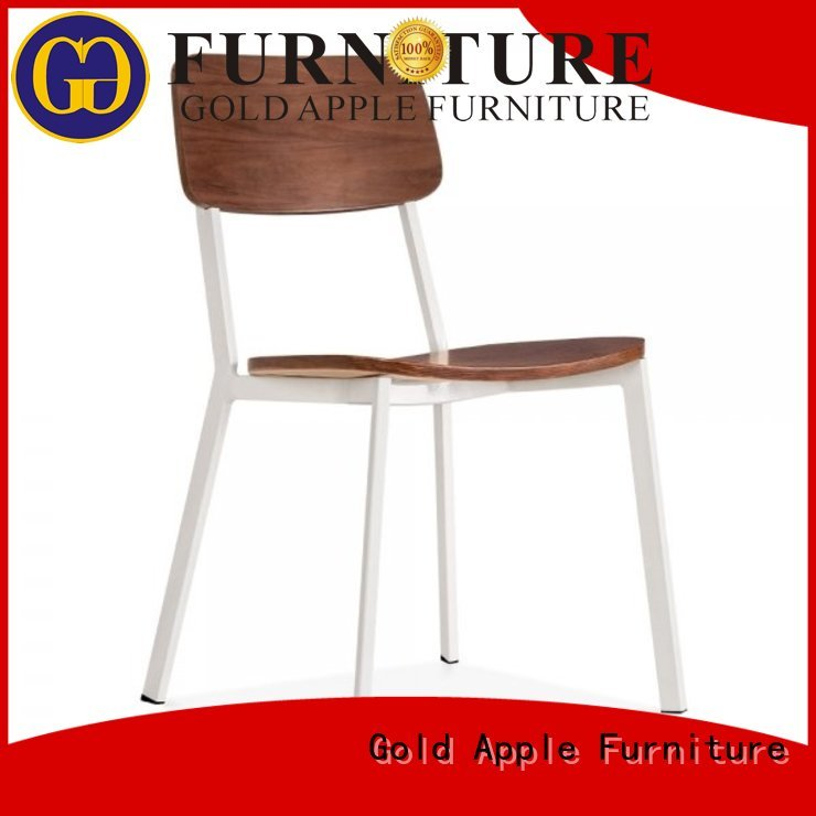 aluminum stacking chairs unique bent stackable office chairs back Gold Apple Brand