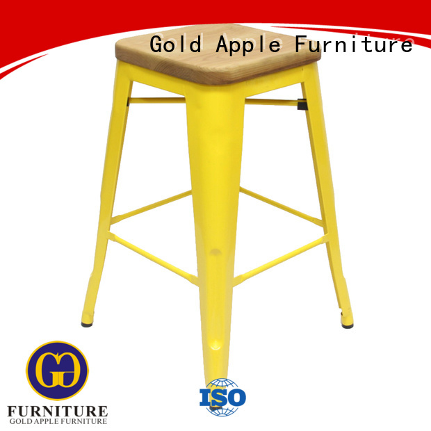frame bar Gold Apple Brand tall counter stools