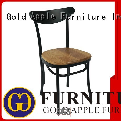 Quality Gold Apple Brand wooden chair suppliers school top
