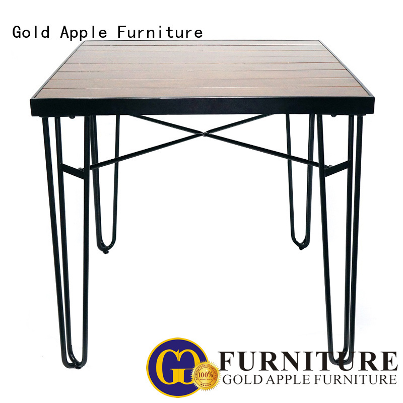 Quality Gold Apple Brand wholesale dining tables design