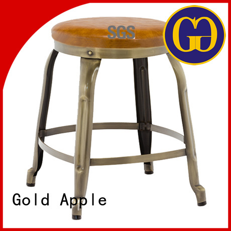 Gold Apple Brand dining low stools for sale furniture supplier
