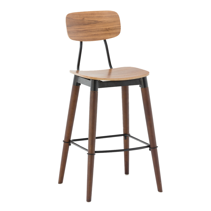 Wooden bar stool GA2001C